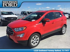 New 2018 Ford EcoSport SE Crossover MAJ3P1TE9JC214755 for Sale in Stafford, TX at Helfman Ford