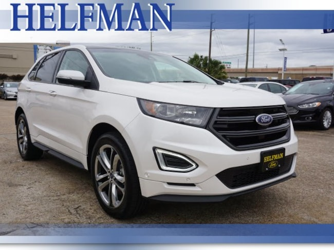 Certified 2018 Ford Edge Sport SUV for Sale in Stafford, TX at Helfman Ford