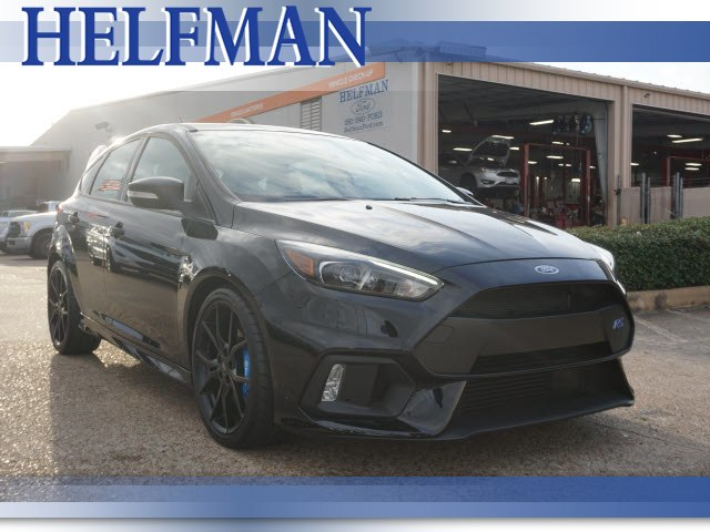 Used 2017 Ford Focus RS RS Hatchback for Sale in Stafford, TX at Helfman Ford