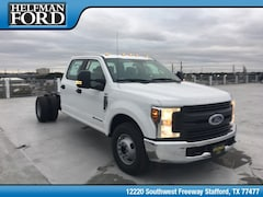 New 2019 Ford Chassis Cab F-350 XL Commercial-truck 1FD8W3GT4KED09815 for Sale in Stafford, TX at Helfman Ford