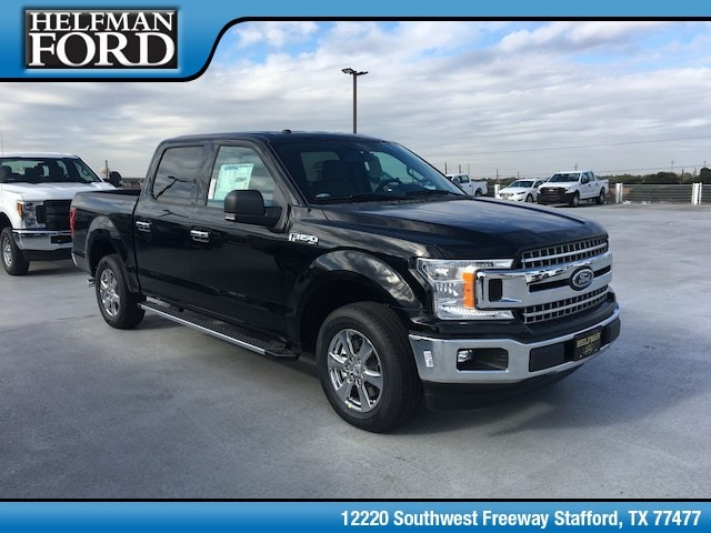 New 2018 Ford F-150 XLT Truck for Sale in Stafford, TX at Helfman Ford