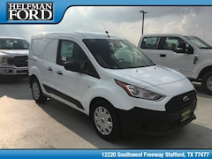 New 2019 Ford Transit Connect Commercial XL Cargo Van Commercial-truck NM0LS6E27K1393638 for Sale in Stafford, TX at Helfman Ford