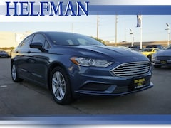 Used 2018 Ford Fusion SE Sedan 3FA6P0H79JR114819 for Sale in Stafford, TX at Helfman Ford