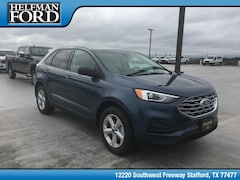 New 2019 Ford Edge SE Crossover 2FMPK3G93KBB21309 for Sale in Stafford, TX at Helfman Ford