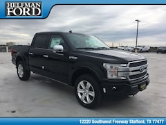 New 2019 Ford F-150 Platinum Truck 1FTEW1E46KFB28216 for Sale in Stafford, TX at Helfman Ford