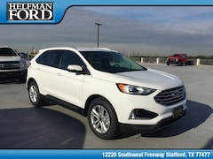 New 2019 Ford Edge SEL Crossover 2FMPK3J97KBB61188 for Sale in Stafford, TX at Helfman Ford