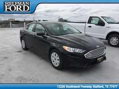 New 2019 Ford Fusion S Sedan 3FA6P0G79KR132594 for Sale in Stafford, TX at Helfman Ford