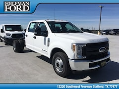 New 2019 Ford Chassis Cab F-350 XL Commercial-truck 1FD8W3GT8KEE01929 for Sale in Stafford, TX at Helfman Ford