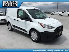 New 2019 Ford Transit Connect Commercial XL Cargo Van Commercial-truck NM0LS6E29K1388540 for Sale in Stafford, TX at Helfman Ford