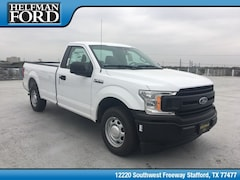 New 2019 Ford F-150 XL Truck 1FTMF1CB1KKC96687 for Sale in Stafford, TX at Helfman Ford