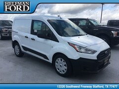 New 2019 Ford Transit Connect Commercial XL Cargo Van Commercial-truck NM0LS6E23K1394169 for Sale in Stafford, TX at Helfman Ford