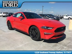 New 2019 Ford Mustang Ecoboost Premium Coupe 1FA6P8TH2K5118214 for Sale in Stafford, TX at Helfman Ford