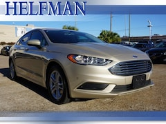 Used 2018 Ford Fusion SE Sedan 3FA6P0HD2JR213651 for Sale in Stafford, TX at Helfman Ford