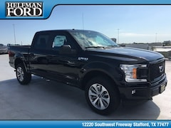 New 2018 Ford F-150 STX Truck 1FTEW1E59JKF33467 for Sale in Stafford, TX at Helfman Ford