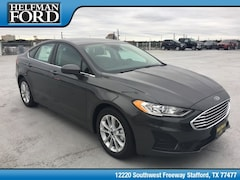 New 2019 Ford Fusion SE Sedan 3FA6P0HD7KR132601 for Sale in Stafford, TX at Helfman Ford