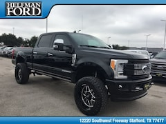 New 2019 Ford Superduty F-250 Platinum Truck 1FT7W2BT2KEC87413 for Sale in Stafford, TX at Helfman Ford