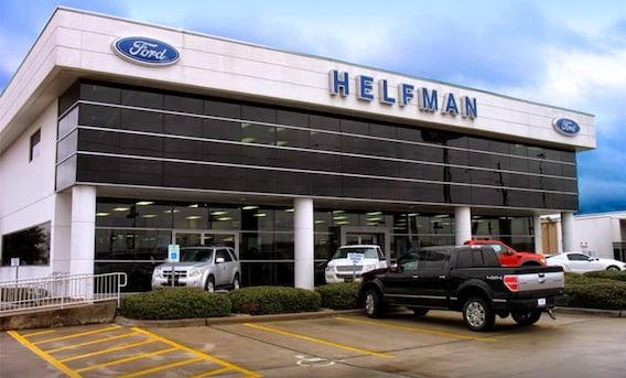 Ford Dealership Houston >> Ford Dealer Near Houston Helfman Ford Inc