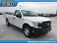 New 2018 Ford F-150 XL Truck 1FTMF1CB2JKF27031 for Sale in Stafford, TX at Helfman Ford