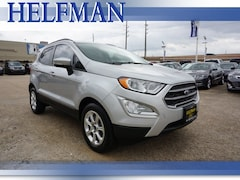 Used 2018 Ford EcoSport SE SUV MAJ3P1TE5JC220052 for Sale in Stafford, TX at Helfman Ford
