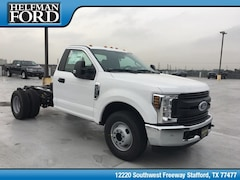 New 2019 Ford Chassis Cab F-350 XL Commercial-truck 1FDRF3G69KED09811 for Sale in Stafford, TX at Helfman Ford