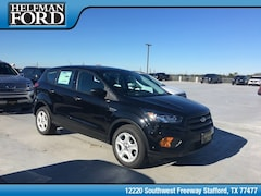 New 2019 Ford Escape S SUV 1FMCU0F70KUA34341 for Sale in Stafford, TX at Helfman Ford