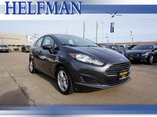 Certified 2018 Ford Fiesta SE Sedan for Sale in Stafford, TX at Helfman Ford