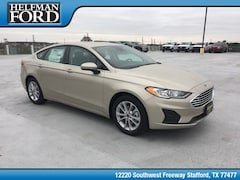 New 2019 Ford Fusion SE Sedan 3FA6P0HD9KR132602 for Sale in Stafford, TX at Helfman Ford