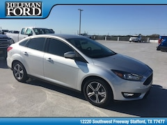 New 2018 Ford Focus SE Sedan for Sale in Stafford, TX at Helfman Ford