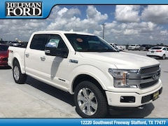 New 2018 Ford F-150 Platinum Truck 1FTFW1E14JFD52075 for Sale in Stafford, TX at Helfman Ford