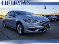 Used 2018 Ford Fusion SE Sedan 3FA6P0HD5JR158435 for Sale in Stafford, TX at Helfman Ford