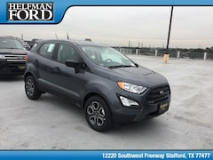 New 2018 Ford EcoSport S Crossover MAJ3P1RE5JC244522 for Sale in Stafford, TX at Helfman Ford