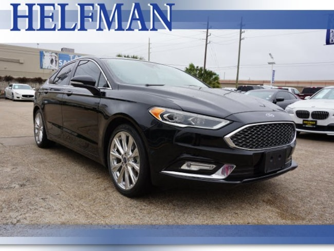 Certified 2017 Ford Fusion Sedan for Sale in Stafford, TX at Helfman Ford