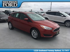 New 2018 Ford Focus SE Hatchback for Sale in Stafford, TX at Helfman Ford