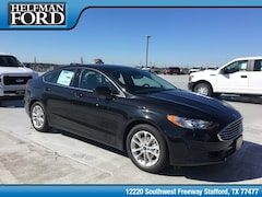 New 2019 Ford Fusion SE Sedan 3FA6P0HD2KR132599 for Sale in Stafford, TX at Helfman Ford