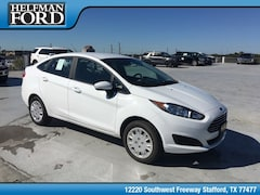 New 2019 Ford Fiesta S Sedan 3FADP4AJ9KM101569 for Sale in Stafford, TX at Helfman Ford
