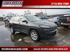 2016 Jeep Cherokee Latitude SUV for Sale in Houston, TX at River Oaks Chrysler Jeep Dodge Ram