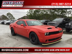 2019 Dodge Challenger SRT HELLCAT Coupe for Sale in Houston, TX at River Oaks Chrysler Jeep Dodge Ram
