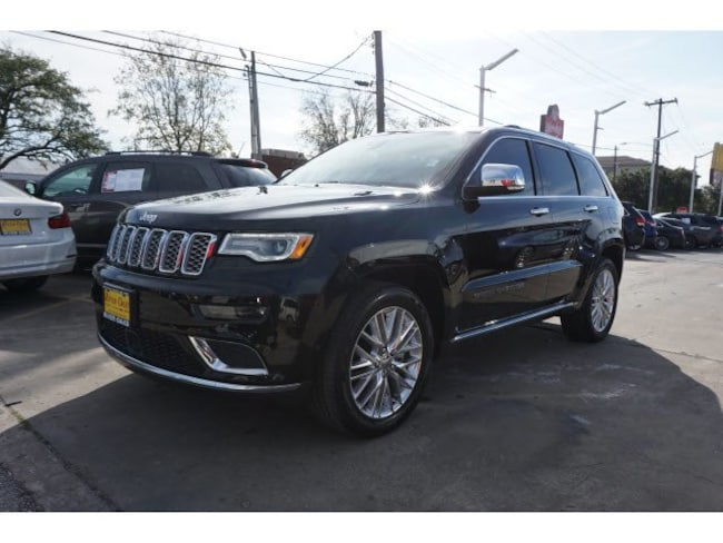 d5be639a56 Houston Used 2017 Jeep Grand Cherokee Diamond Black Crystal ...