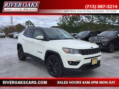 New 2019 Jeep Compass ALTITUDE FWD Sport Utility for Sale in Houston, TX at River Oaks Chrysler Jeep Dodge Ram