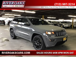 New 2019 Jeep Grand Cherokee ALTITUDE 4X2 Sport Utility 1C4RJEAG7KC768007 for Sale in Houston, TX at River Oaks Chrysler Jeep Dodge Ram