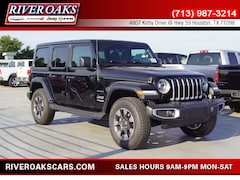 New 2018 Jeep Wrangler UNLIMITED SAHARA 4X4 Sport Utility for Sale in Houston, TX at River Oaks Chrysler Jeep Dodge Ram