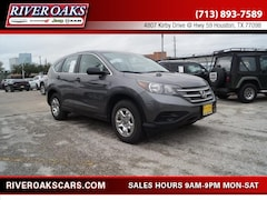 2014 Honda CR-V LX SUV for Sale in Houston, TX at River Oaks Chrysler Jeep Dodge Ram