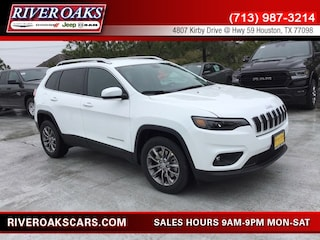 New 2019 Jeep Cherokee LATITUDE PLUS FWD Sport Utility 1C4PJLLB2KD395868 for Sale in Houston, TX at River Oaks Chrysler Jeep Dodge Ram