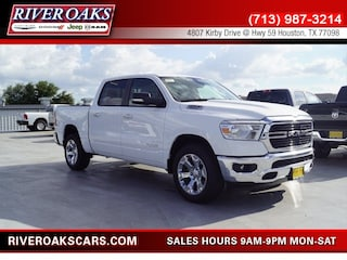 New 2019 Ram 1500 BIG HORN / LONE STAR CREW CAB 4X2 5'7 BOX Crew Cab 1C6RREFT1KN568282 for Sale in Houston, TX at River Oaks Chrysler Jeep Dodge Ram