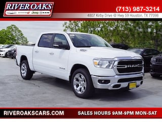 New 2019 Ram 1500 BIG HORN / LONE STAR CREW CAB 4X2 5'7 BOX Crew Cab 1C6RREFT8KN568280 for Sale in Houston, TX at River Oaks Chrysler Jeep Dodge Ram