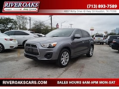 Used 2013 Mitsubishi Outlander Sport ES SUV 4A4AP3AU9DE020848 for Sale in Houston, TX at River Oaks Chrysler Jeep Dodge Ram