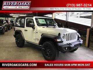 New 2018 Jeep Wrangler SPORT 4X4 Sport Utility for Sale in Houston, TX at River Oaks Chrysler Jeep Dodge Ram