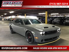 New 2019 Dodge Challenger SRT HELLCAT WIDEBODY Coupe for Sale in Houston, TX at River Oaks Chrysler Jeep Dodge Ram