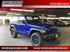 2019 Jeep Wrangler SPORT 4X4 Sport Utility for Sale in Houston, TX at River Oaks Chrysler Jeep Dodge Ram