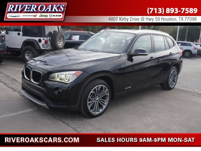 Houston Used 2014 Bmw X1 Black For Sale In Tx Houston